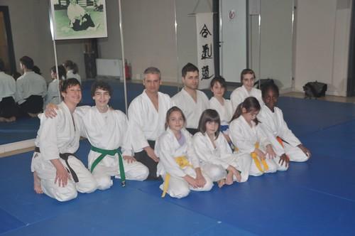 Momenti di pratica nel corso giovani - Marzo 2012