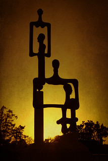 Sculpture at Sunset | by photographyguy