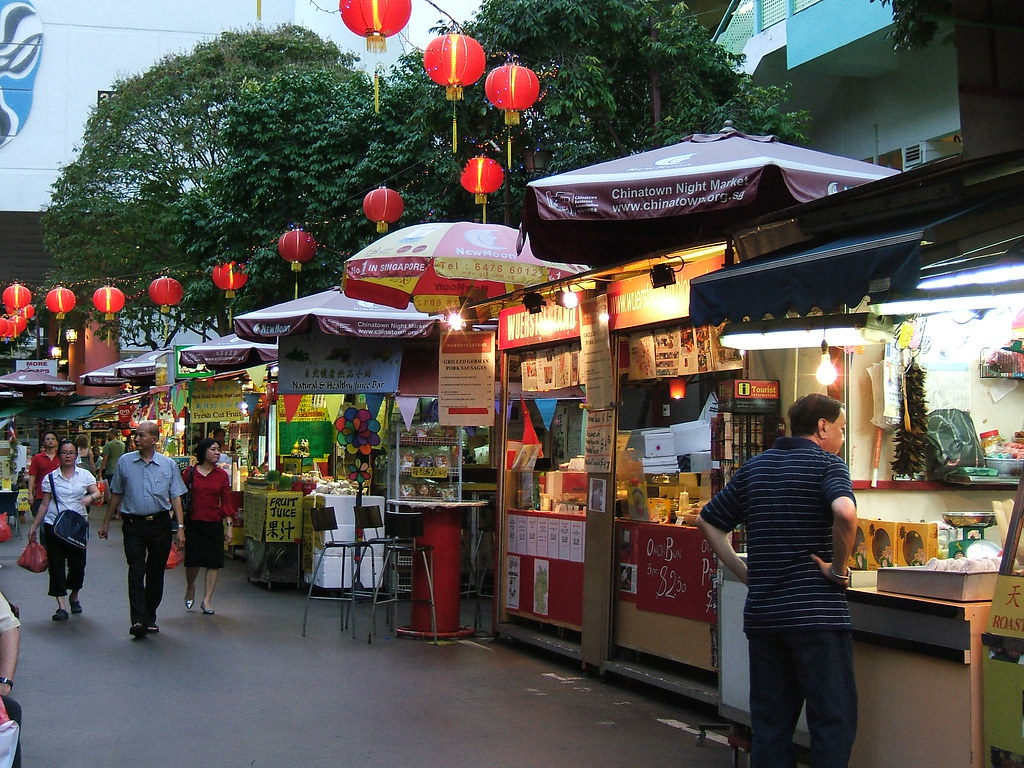 Chinatown night market | It's almost night, and here are som… | Flickr