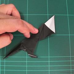 วิธีการพับกระดาษเป็นรูปจิงโจ้ (Origami Kangaroo) 021