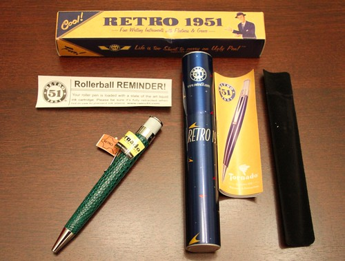 Retro 51 Giveaway Goodies   by GourmetPens