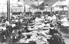 Timer Fashions - sewing section