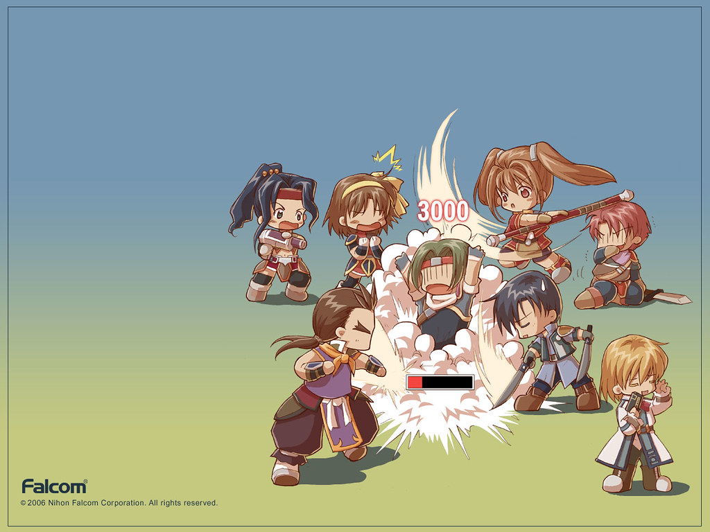 The Legend Of Heroes Trails In The Sky Falcom Wallpaper F Flickr