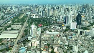 Airport Rail Link from Baiyoke Sky Hotel, Bangkok, Thailand | by David McKelvey
