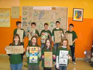 Primary school Ivan Goran Kovacic_Sl.Brod: Think green group