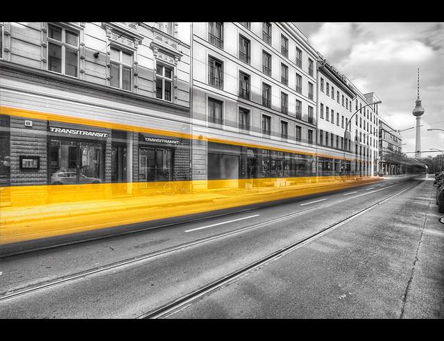 Berlin Tram Colorkey