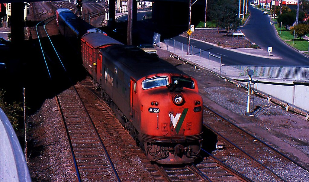 A62 Geelong to Spencer Street Passenger Train by Rodney S300