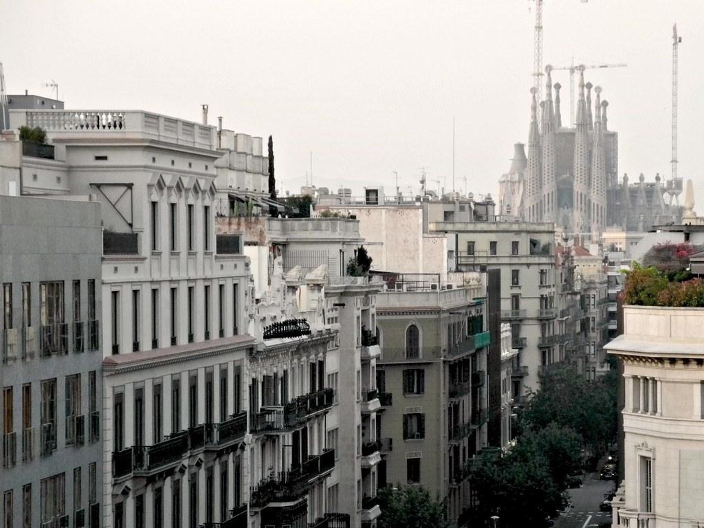 Hotel Condes De Barcelona Terraza Al Aire Neus Prats