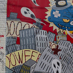 San Francisco Mission District -- Clarion Alley Street Art and Graffiti, Tribute to MCA/Adam Yauch