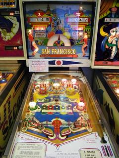 1964 Williams San Francisco Pinball Machine