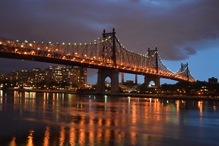 Queensboro Bridge at night | by RealMattKane
