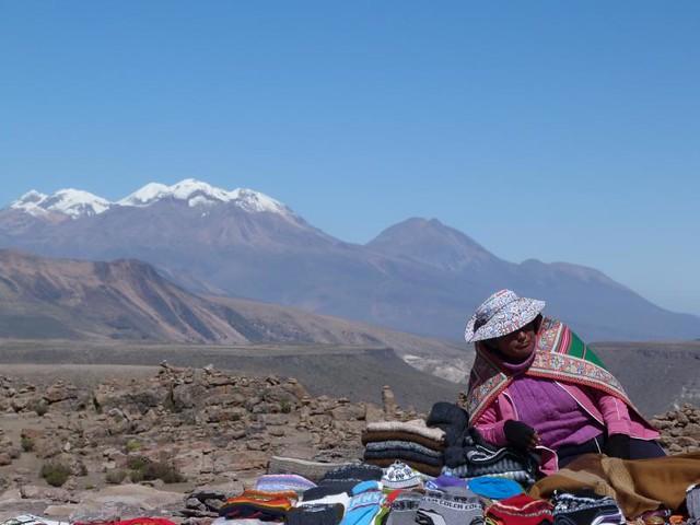 Paisaje del Colca en Perú