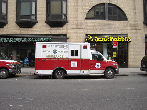 LOS ANGELES FIRE DEPARTMENT (LAFD) RESCUE AMBULANCE 81