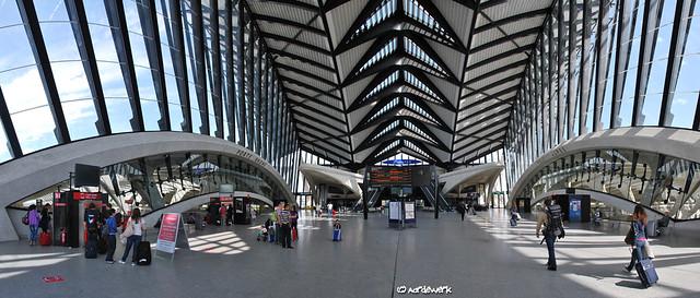 Lyon Saint Exupéry airport, railway station, part 1