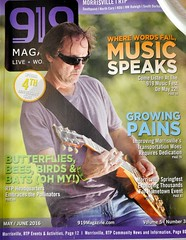 Cover of 919 Magazine this month.