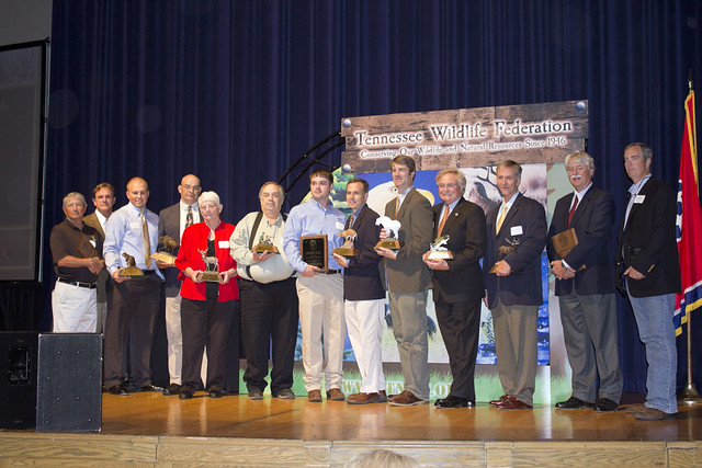 Award winners, Tennessee Wildlife Federation Award Ceremony, Nashville, TN