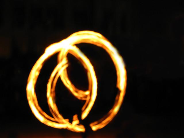 fire rings..