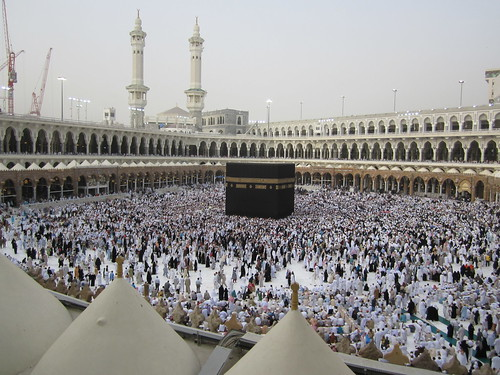 Kaaba | by UmmSqueaky