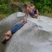 Petroglyph slidey fun time