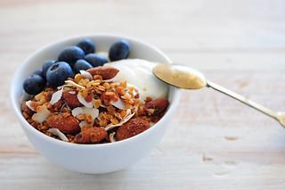 lentil granola   by jules:stonesoup