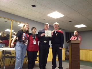 Mayo receives SFMC BDE-Cross of Valor