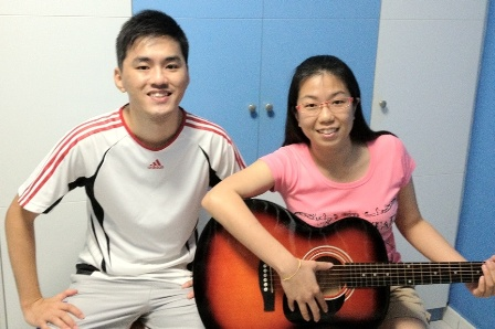 Adult guitar lessons Singapore Joanne