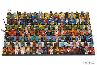 LEGO Collectible Minifigures Series 1 ~ 7 (112 Minifigures) Update | by 713 Avenue