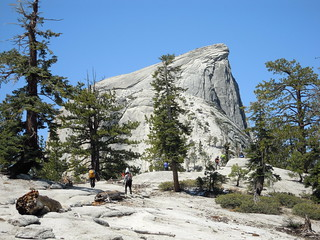 Hiking (and Climbing) Half Dome: Our first really good up-close look at the rock | by mormolyke