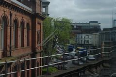 train window distortion, Dublin