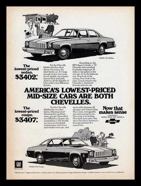 Chevrolet Chevelle, 1975