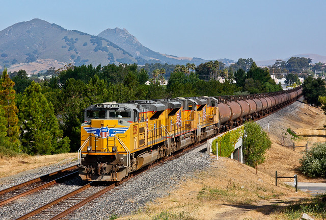 Union Pacific Oil Cans