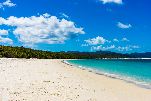 Australien Whitehaven Beach, Paradies