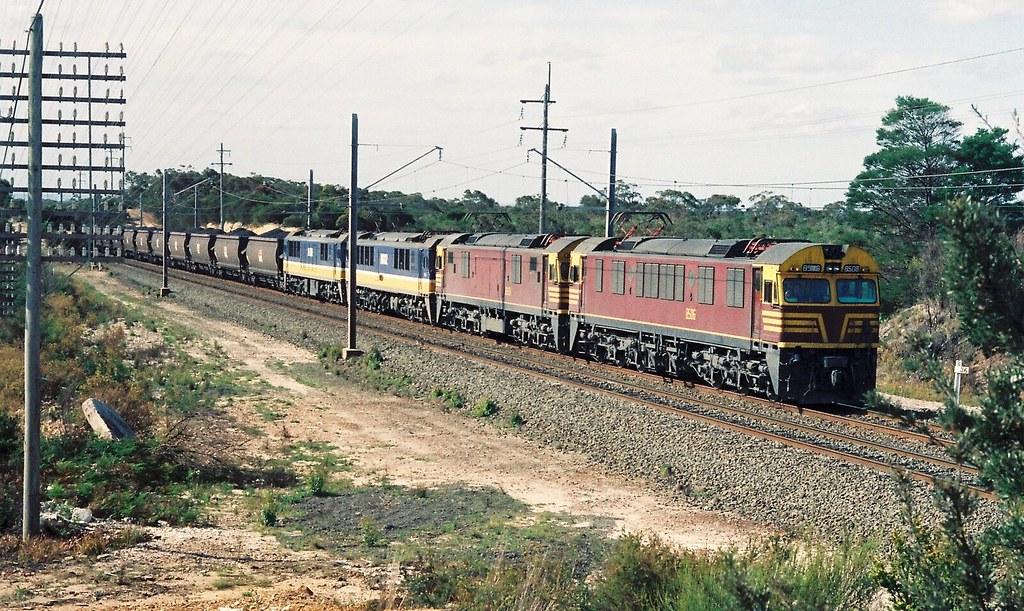 094-7 1991-10-18 8506 8508 8602 and 8601 at Heathcote by David Johnson