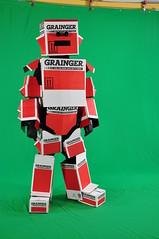 Grainger Box Man Waits for His Cue