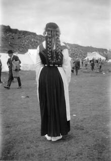 Woman at Thingvellir, Iceland