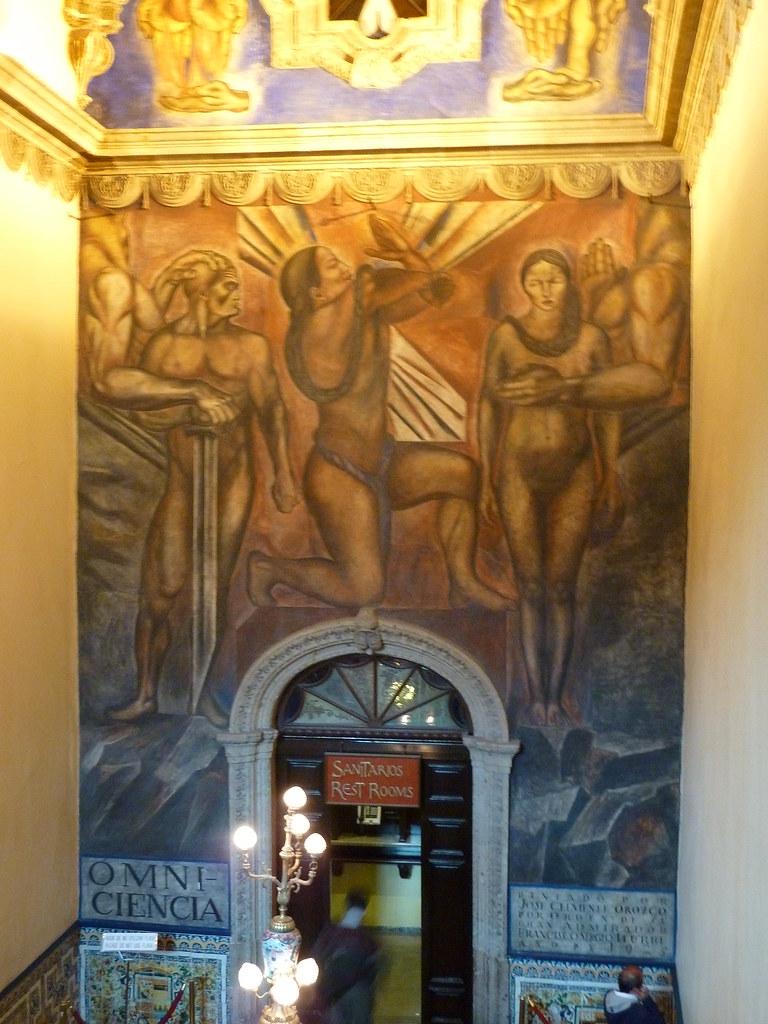Mural Omnisciencia De Jose Clemente Orozco