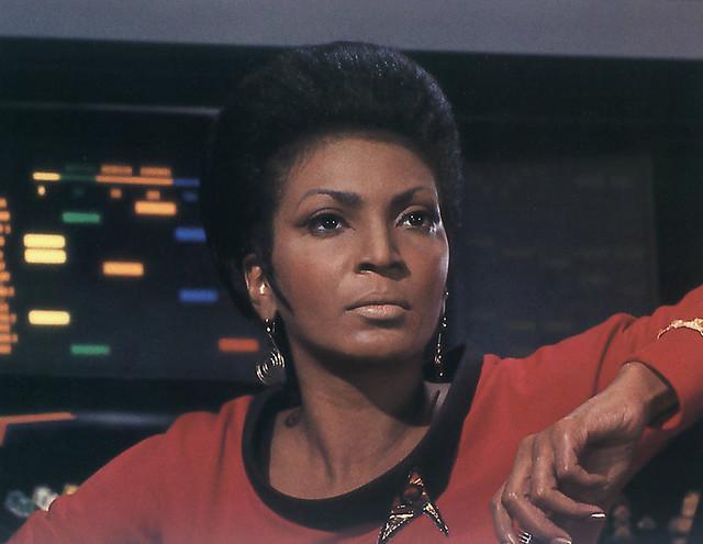 Nichelle Nichols in Star Trek