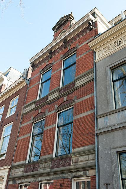 Woonhuis Petronella Moens. Petronella's kamers lagen mogelijk op de 2e of 3e verdieping.