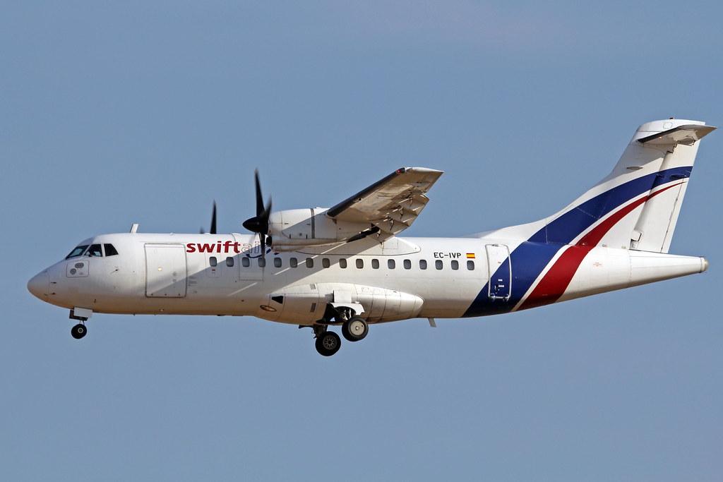 Image result for swiftair ATR 42