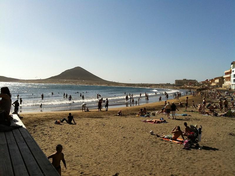 Playa El Medano, Tenerife, Canary Islands