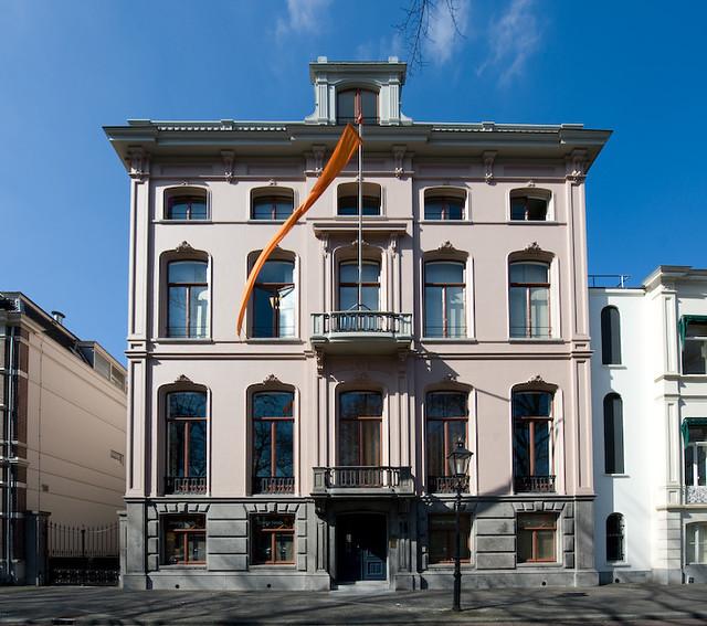 Kapitale villa Maliebaan 18, woonhuis van Jonkheer Everard van Weede van Dijkveld. Foto: Anna van Kooij.