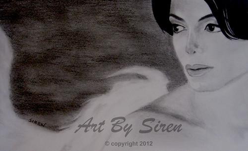 """""""Angel Michael"""" - March 26, 2012   by ArtBySiren"""