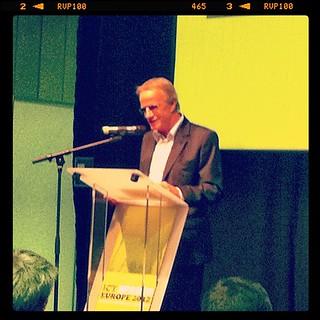 Christophe Lambert @ ICT Spring   by Marc Ben Fatma - visit sophia.lu and like my FB pa