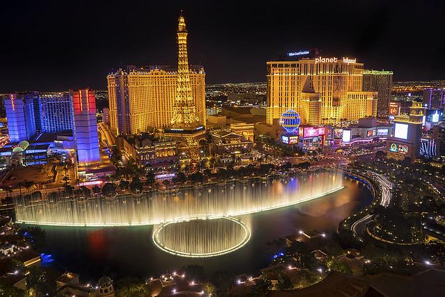 Las Vegas Lights. Nevada.