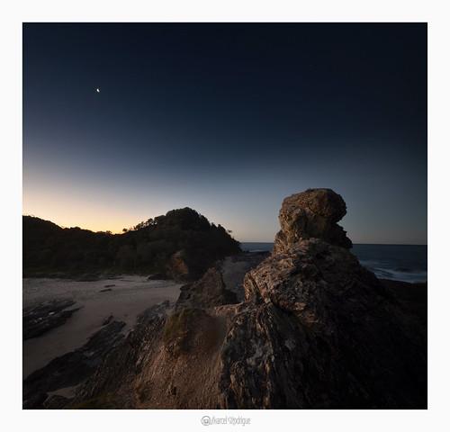 nambuccaheads midnorthcoast nambucca newsouthwales nsw australia marcelrodrigue photography nightscape seascape wellingtonrock nambuccavalley