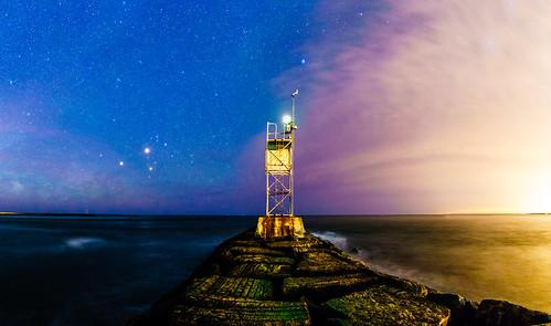 landscape nature night lighthouse sony longexposure longisland atlanticocean milkyway sonya7riiwithefmountlens sonya7r2 tamronsp1530 tamron tamronusa withmytamron newyorkstate fireislandnationalseashore fireisland
