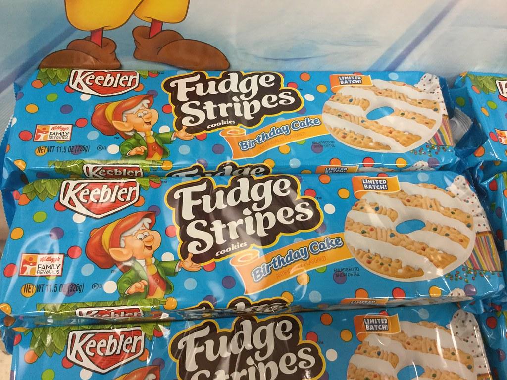 By JeepersMedia Keebler Fudge Stripe Happy Birthday Ernie Cookies