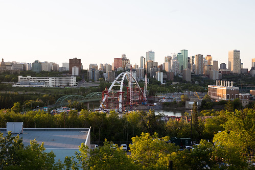 Walterdale Bridge | by mastermaq