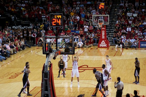 Rockets free throw | by StartAgain