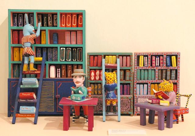 Animal Library Oaxaca Mexico